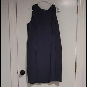 Blue loft dress